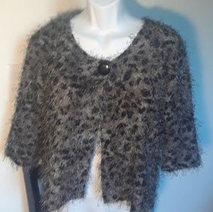 Nue Options Mohair Stlye Cardigan Sweater
